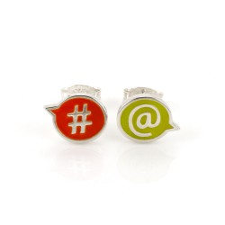 Chit Chat #@ Stud Earrings