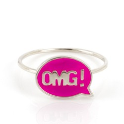 Chit Chat OMG! Stacking Ring