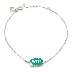 Chit Chat WTF! Bracelet