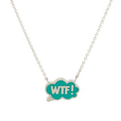 Chit Chat WTF! Necklace