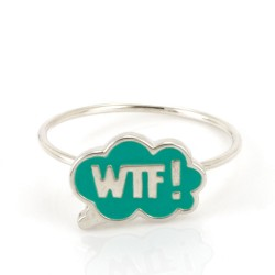 Chit Chat WTF! Stacking Ring