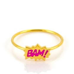 Dainty Bam! Stacking Ring