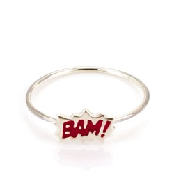 Dainty Bam! Stacking Ring