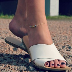 Dainty Peace Anklet