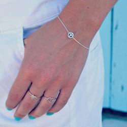 Dainty Peace Bracelet