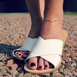 Dainty Star Anklet