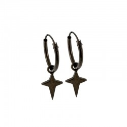 Dreamy Star Hoop Earrings