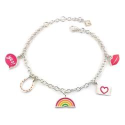 Good Vibes Only Charm Bracelet