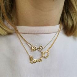 Femme Open Heart Necklace