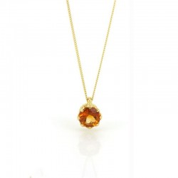 Majestic Gem-Set Pendant Necklace