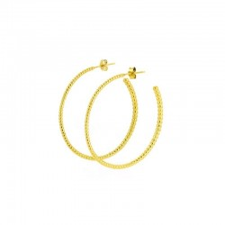 Majestic Large Hoop Earrings
