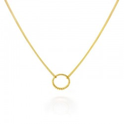 Majestic Single Link Pendant Necklace