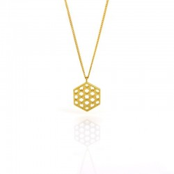 Promise Lattice Pendant Necklace