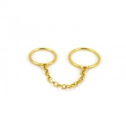 Stacker Chain Double Ring