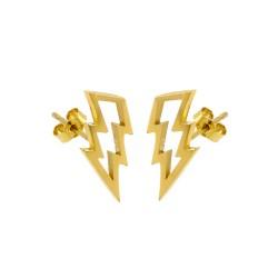 Struck Stud Earrings