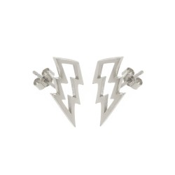 Struck Stud Earrings