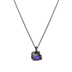 Talon Gem-Set Drop Pendant
