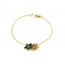 Written Multi Star Bracelet