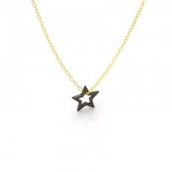 Written Star Necklace