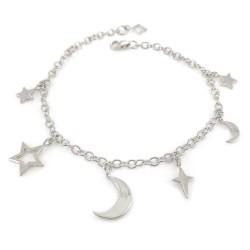 Dainty Stellar Charm Bracelet