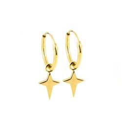 Dreamy Star Hoop Earrings