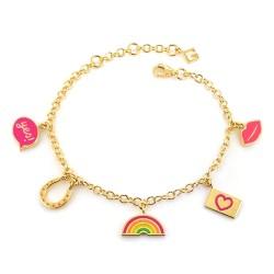 Femme Good Vibes Only Charm Bracelet