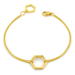 Hexagonal Bracelet