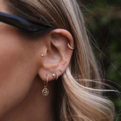Rachel Stevens Leopard Print Earrings