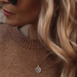 Rachel Stevens Leopard Print Necklace