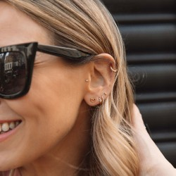 Rachel Stevens Heart Earrings