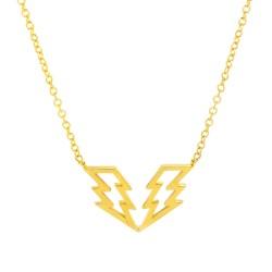 Struck Twice Necklace