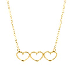Multi Heart Necklace
