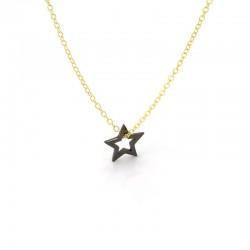 Written Star Necklace