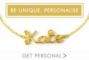 Be Unique, Personalise