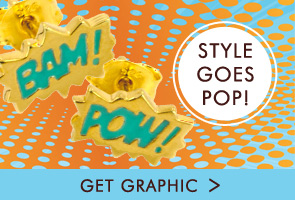Style goes pop - Shop Bam and Pow Jewellery